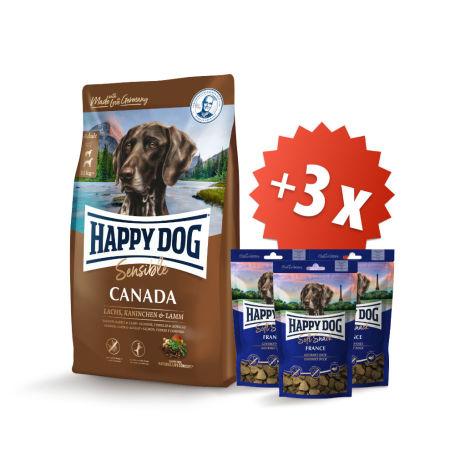 AKCIA Canada 12,5 kg + 3 x Soft Snack France 100 g