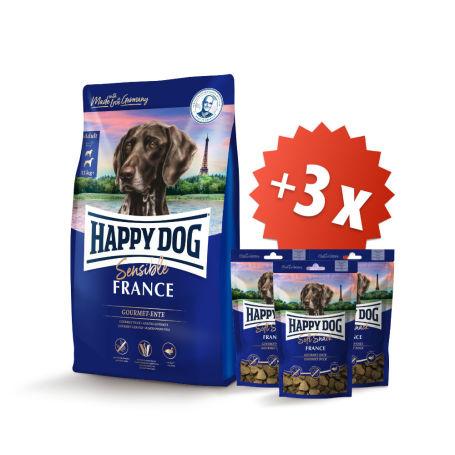 AKCE France 12,5 kg + 3 x Soft Snack France 100 g