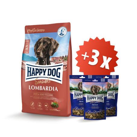 AKCIA Lombardia 11 kg + 3 x Soft Snack France 100 g