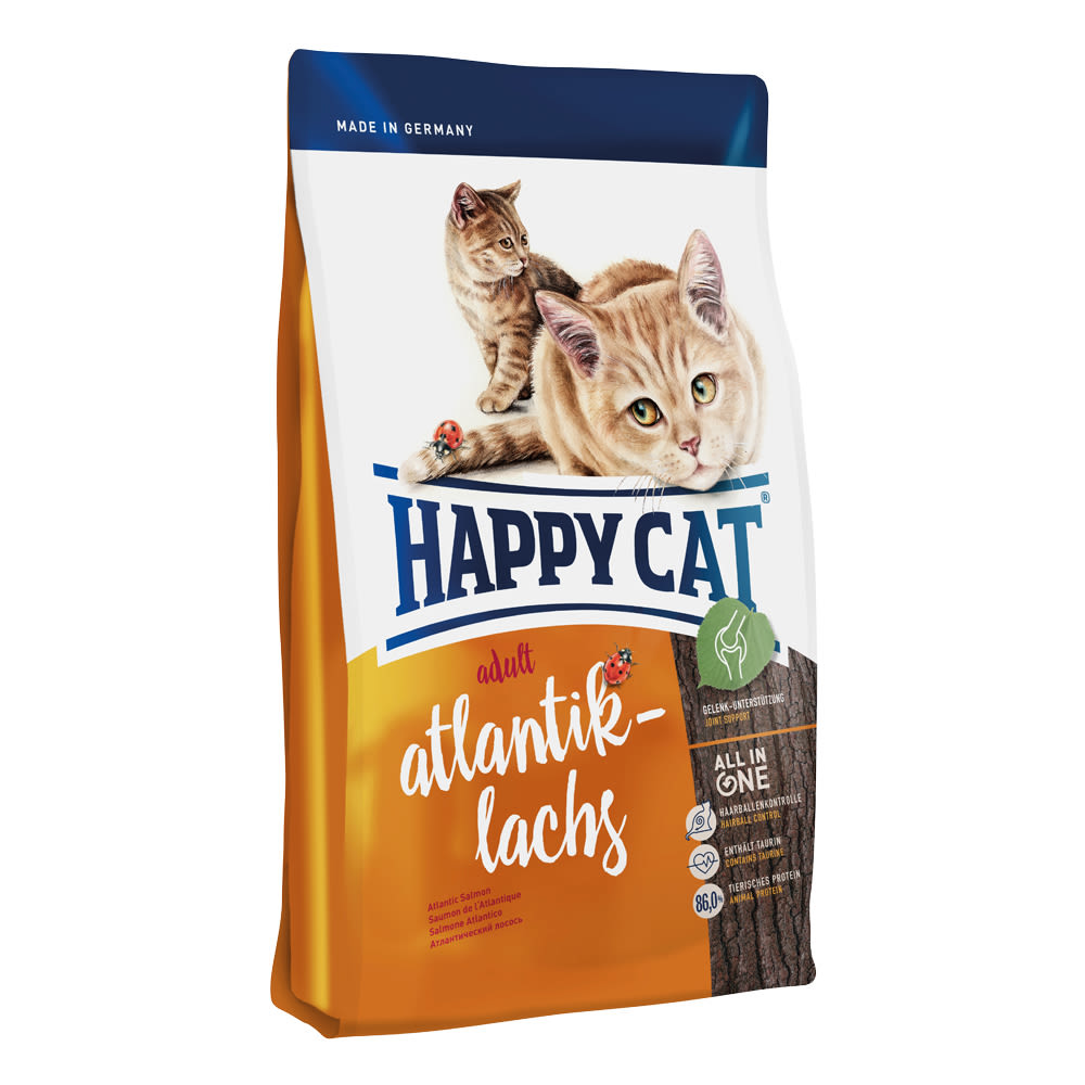 Happy Cat Adult Atlantik-Lachs / Losos 10 kg