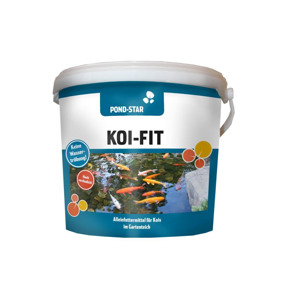 Koi-Fit grün (zelený se Spirulinou) 5 mm 10 kg