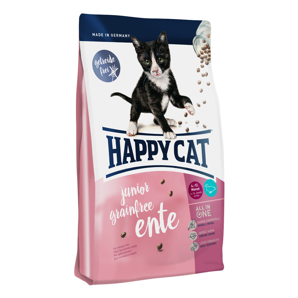 Happy Cat Junior Grainfree Ente / Kachna 4 kg