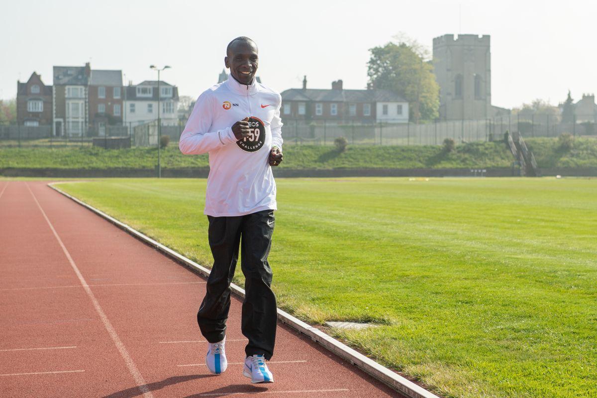 Eliud Kipchoge word marathon record
