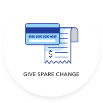 Give Spare Change