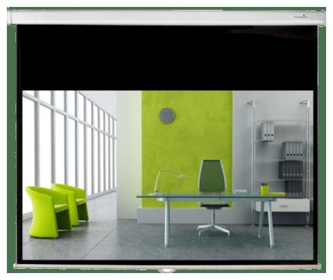 Sapphire Premium Slow Retraction Manual Screens 1:1 234 x 234cm - (SWS240B-ASR2)
