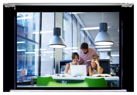 Sapphire In Ceiling Electric Screen (4:3) 304.8 x 228.6cm - (SESC300BV-A2)