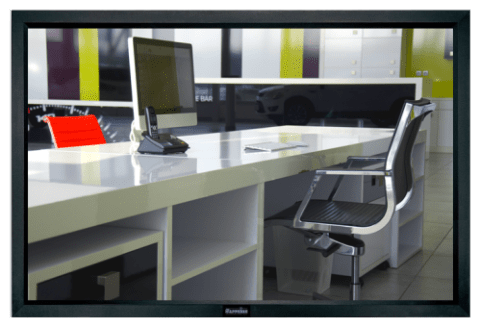 Sapphire Fixed Frame Rear Screen - 170.7 x 128cm(4:3) Format (SFS171V)