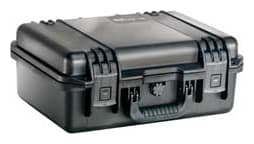Peli Protector 1500 Case finished in black  with pick and pluck foam - Internal measurements 43.5(L)x29(W)x15.4cm(D)