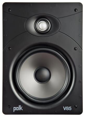 Polk V85 In-wall speaker with 8-inch driver (single) -