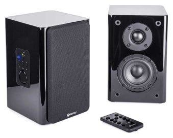 ConXeasy S603 Wall Mount Powered LoudSpeakers (Black)