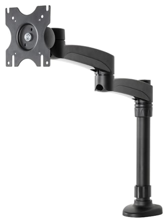 BTech - Double Arm Desk Mount With Tilt & Swivel (BT7373)