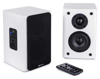 ConXeasy S603 Wall Mount Powered LoudSpeakers (White)