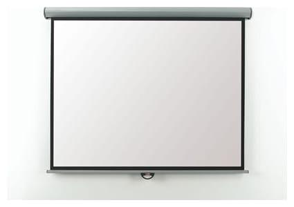 Eyeline Electric Screen - 154cm x 114cm, white casing (EEV16W) - CLEARANCE