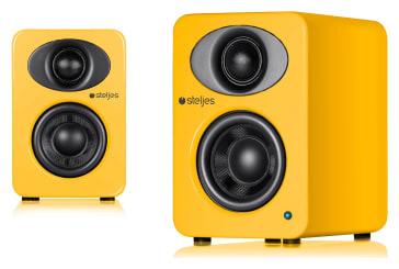 Steljes Audio NS1 Powered Loudspeakers (Solar Yellow)