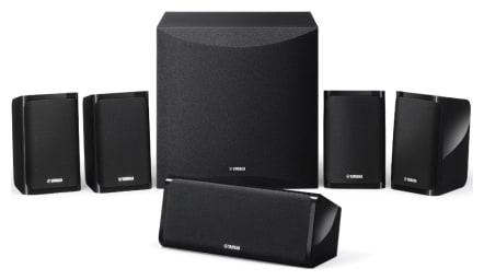 Yamaha NS-P41B Surround Sound 5.1 Speaker Package (Black Finish)