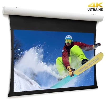 Projecta Tensioned Elpro Concept 139 X 240 cm (16:9) with UHD 4K Fabric 0.9 Gain and RF remote control (Projecta 10103723)