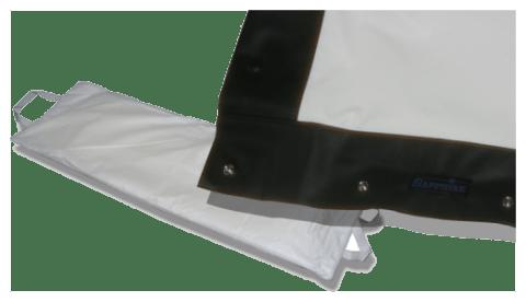 Sapphire Rapidfold Screen Fabric - 203 x 152cm (4:3) - (SFFS203RPFabric)