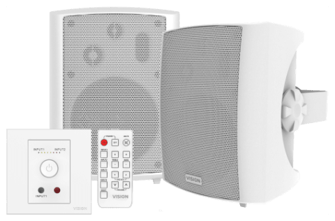 Vision - Techconnect Amp and Speakers (TC3-AMP+SP-1800)