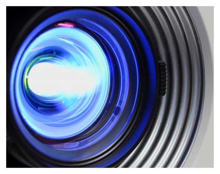 Why are projectors increasing in popularity?