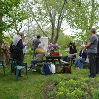 Marie-Josée Béliveau, Parcours des espaces verts et comestibles et dévoilement des panneaux des Jardins citoyens