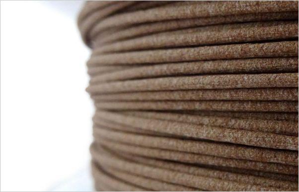Coconut wood pla filament
