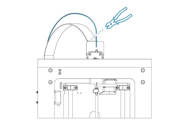 filament ucu kesilir
