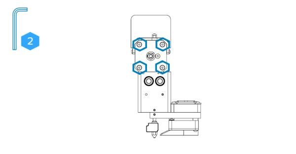 ekstruder motor vidalarının sökülmesi