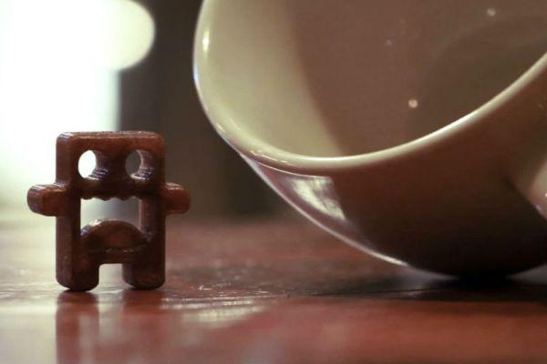 Coffee pla filament