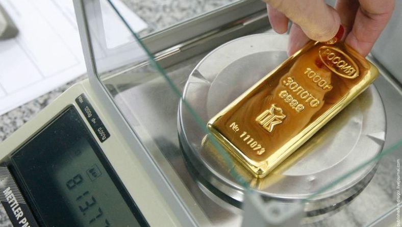 Россия в 2014 г заняла второе место в мире по объему добычи золота.