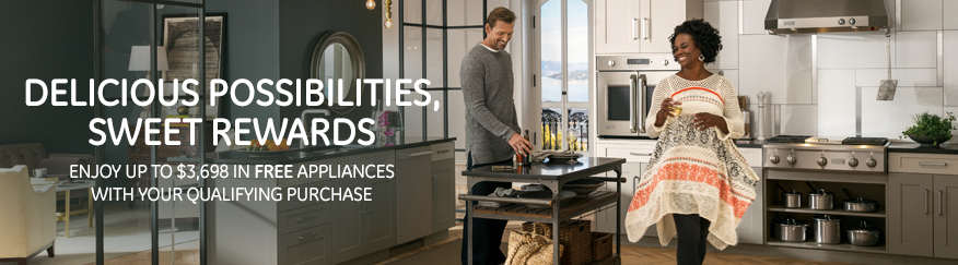 Enjoy up to $3698 in free appliances