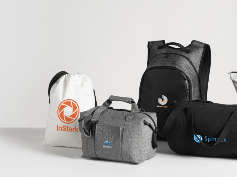 Custom Bags - Get people carrying your logo with personalised bags.