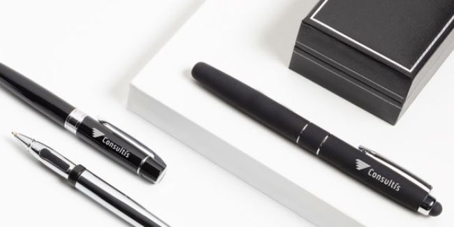 Custom Writing & Drawing Instruments - Put your logo in their hands with branded pens, pencils and more.