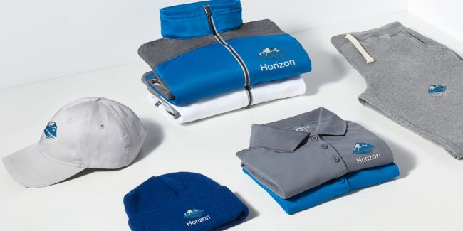 Custom Clothing - Wear your logo with pride using personalized shirts, polos and more.