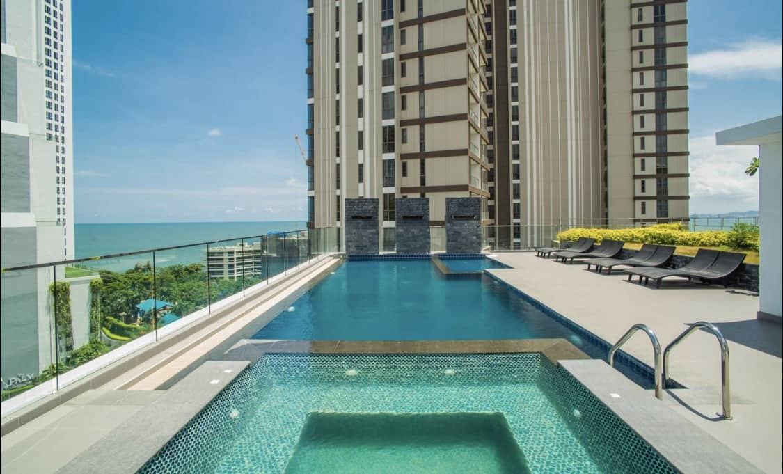 Stylish,Privacy,Rooftop pool,Serenity Pattaya