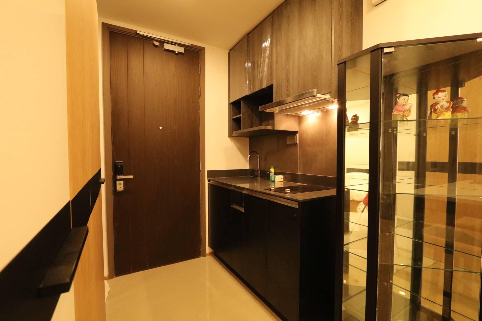 เช่าคอนโดโครงการ Ashton Chula-Silom ชั้น 19 34 ตรม. 1 ห้องนอน 1 ห้องน้ำ