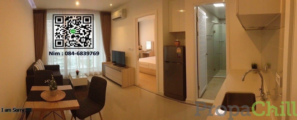คอนโด ทีซีกรีน ( TC Green ) – พระราม 9  ขนาดห้อง 39 ตร.ม 1 ห้องนอน 1 ห้องน้ำ