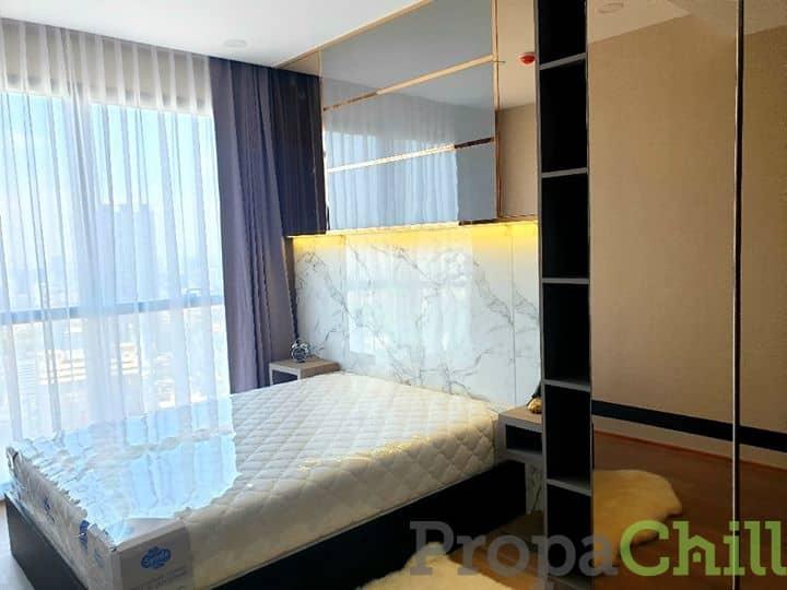 ให้เช่าถูกมาก คอนโด แอชตัน จุฬาสีลม (Ashton Chula-Silom ) ห้องมุม วิวสวย 2 ห้องนอน
