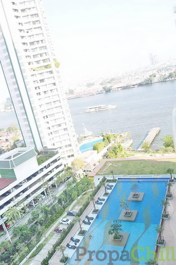 ปล่อยเช่า คอนโด ศุภาลัย ริเวอร์ รีสอร์ท (เจริญนคร) Supalai River Resort พร้อมอยู่ทันที ไม่ต้องจ่ายล่วงหน้า