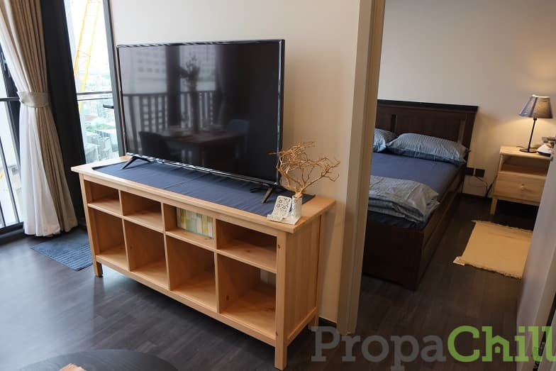 1st hand 35 sq.m. fully furnished room for rent at The Line (Asoke-Ratchada)300 meters from mrt Rama9
