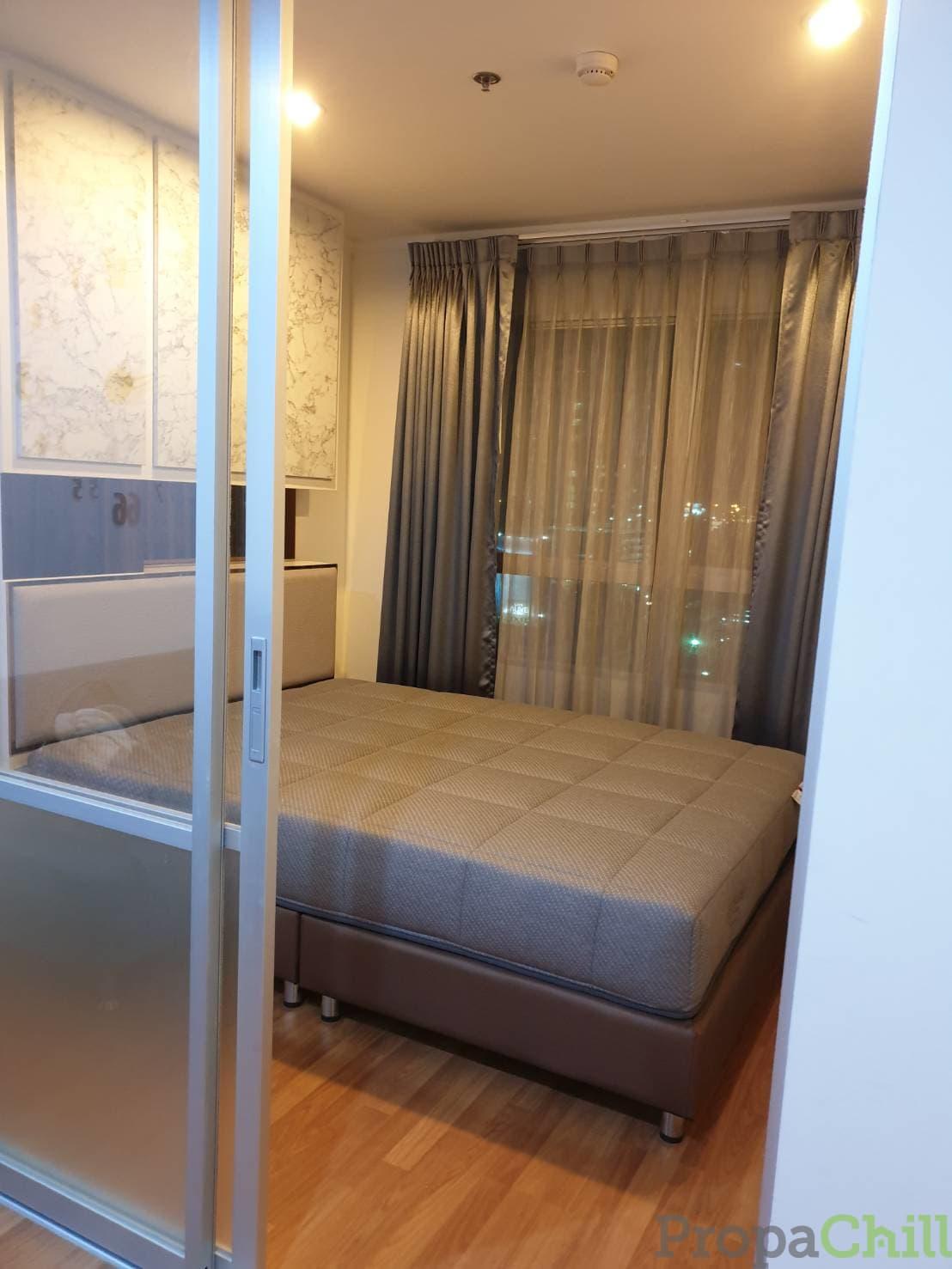 ให้เช่า คอนโด ลุมพินี พาร์ค พระราม 9 – รัชดา  (L.P.N. Park Rama 9-Ratchada)  ใกล้ RCA และ โรงพยาบาลปิยะเวช   ขนาด 26.50 ตร.ม  อาคาร A ชั้น 14 วิวสระ