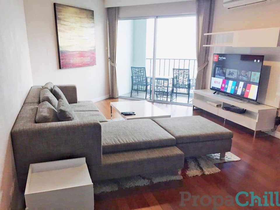 Belle Grand Rama 9 Fully furnished, ready to move in, 2 bedroom