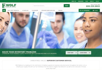 Wolf Medical Magento