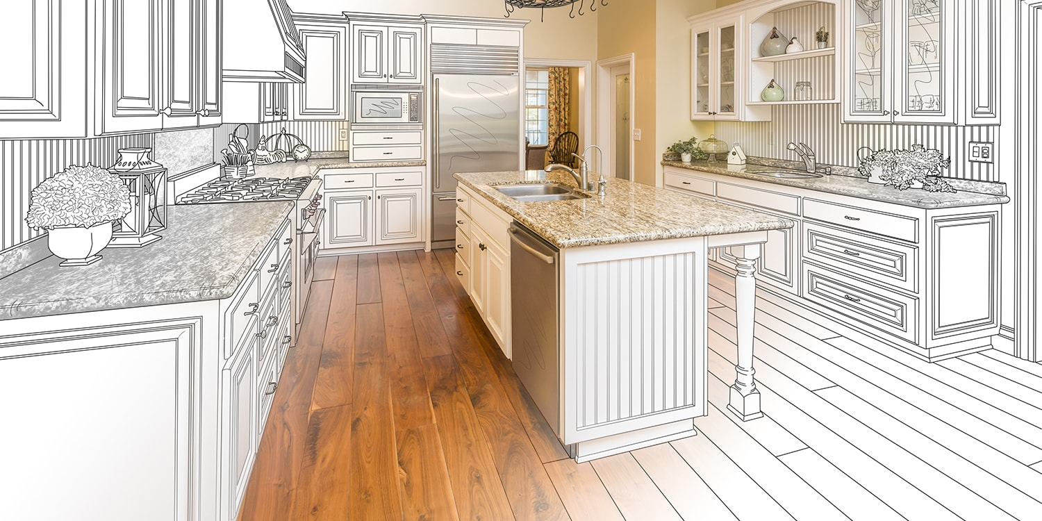 Kitchen design plan to highlight desirable home features