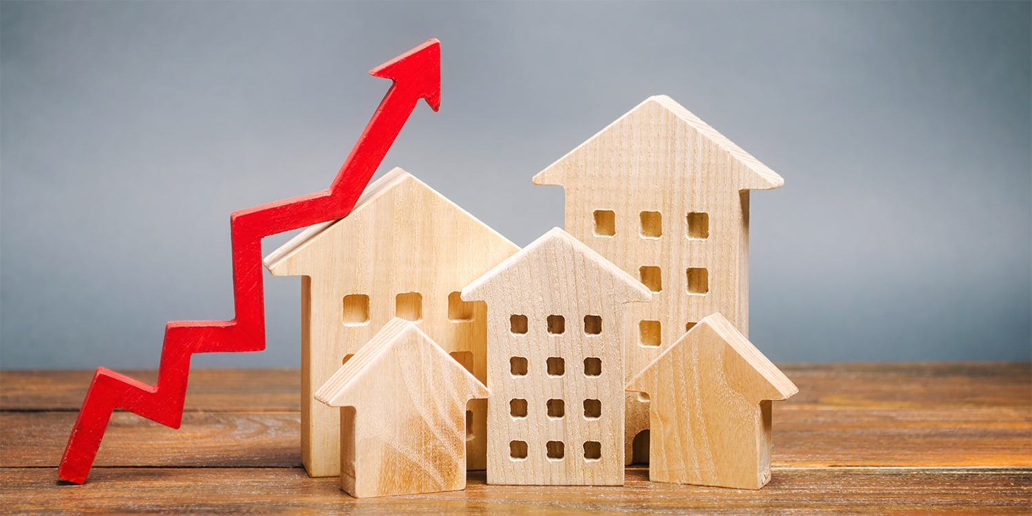 Real estate concept for property analytics