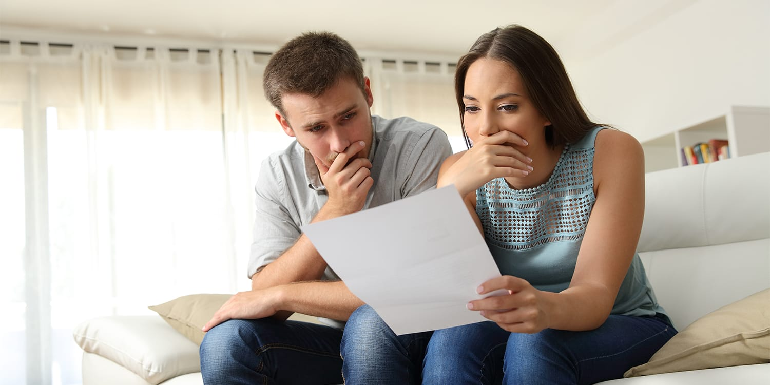 Couple worried about foreclosure on house