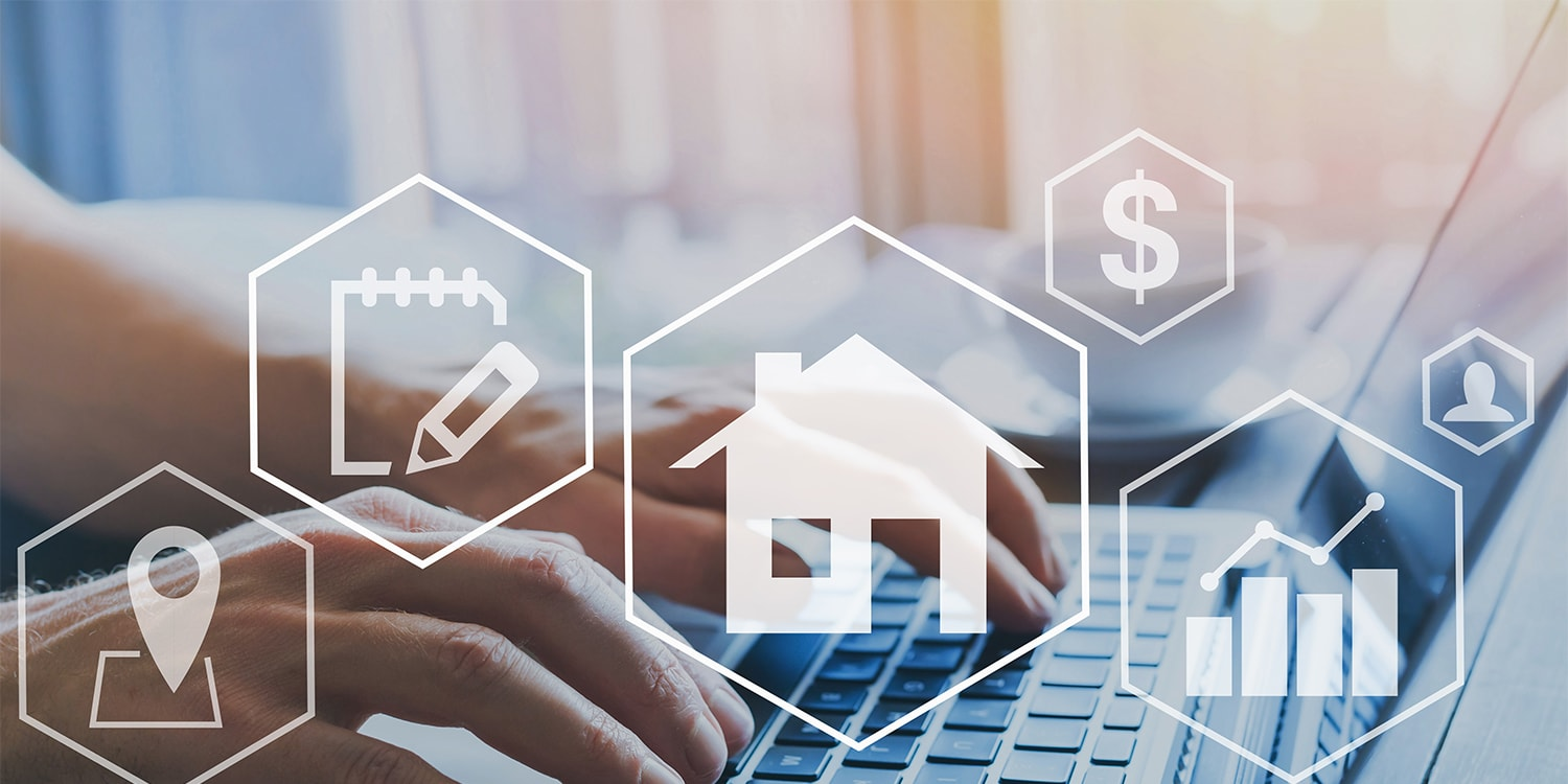 rental property search with analytics