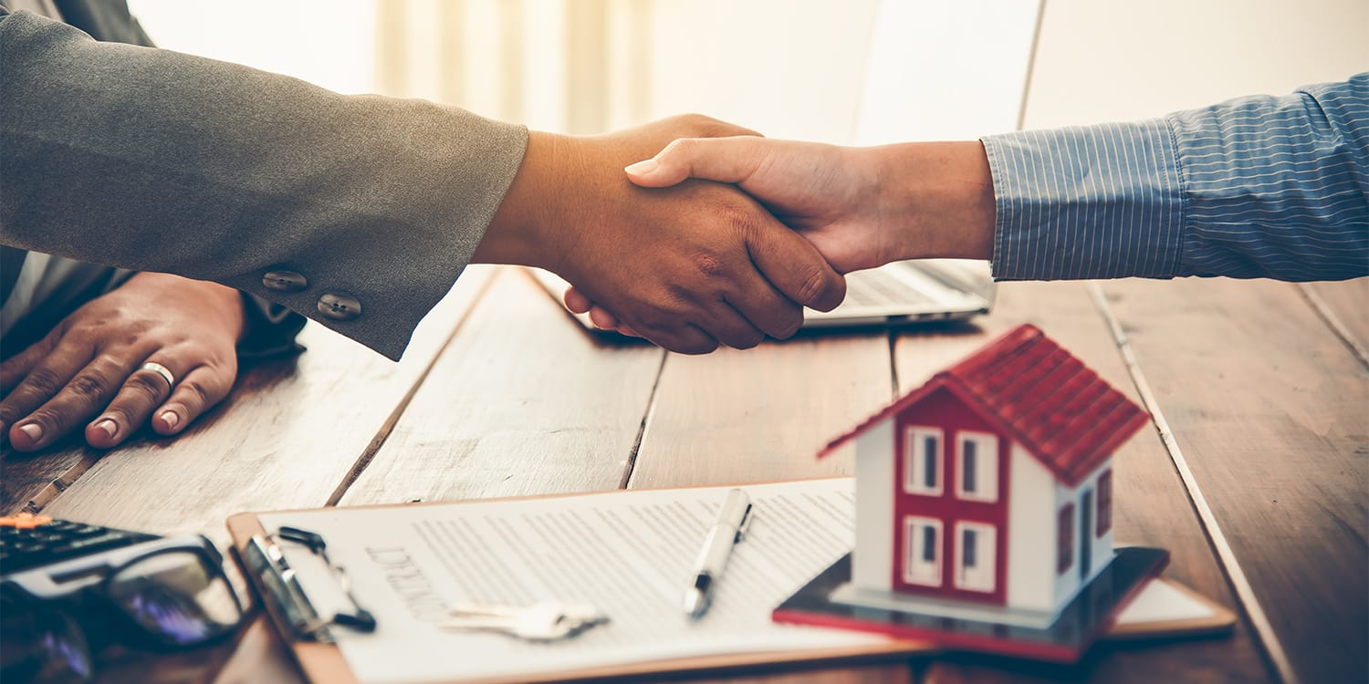Homeowner selling to a real estate investor.