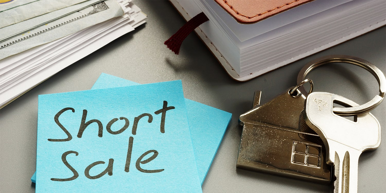 Short sale real estate concept