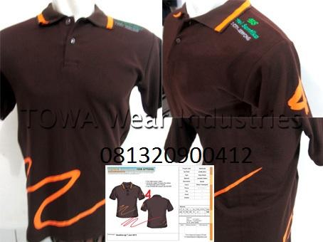 Polo Shirt Hotel Santika BSD 4th