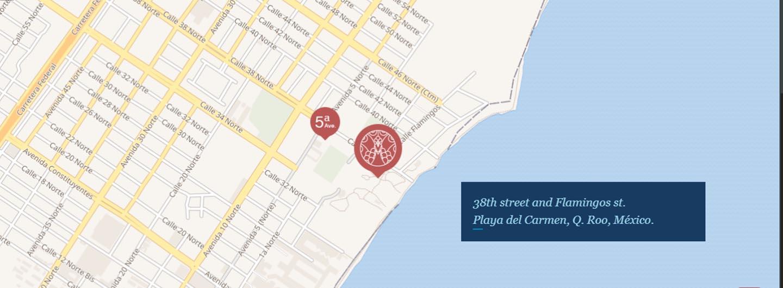 Miranda Ubicacion Playa del Carmen